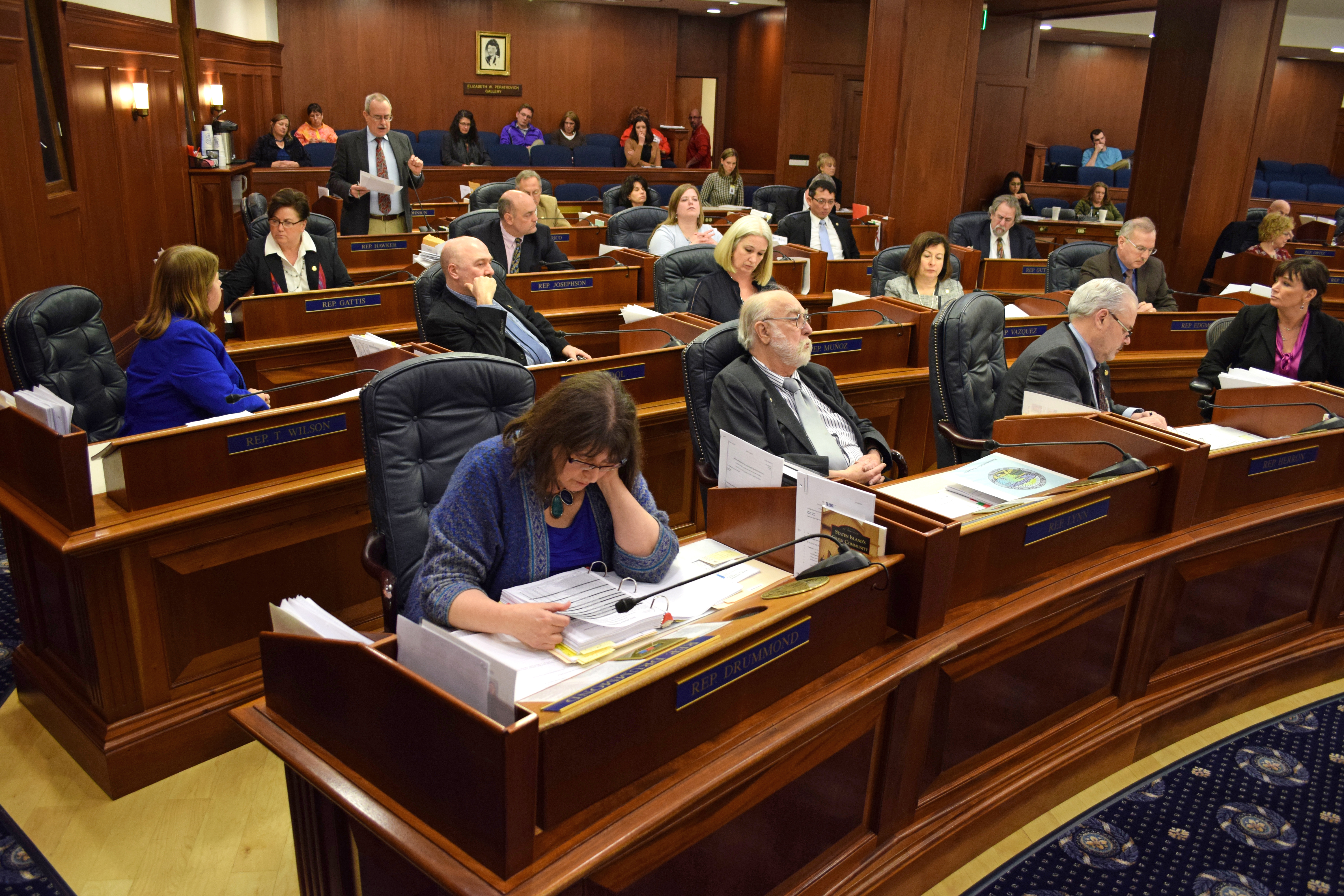 tired Alaska lawmakers