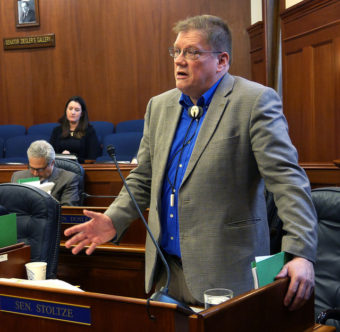 Sen. Bill Stoltze, April 6, 2016