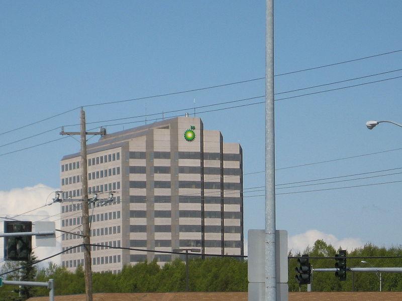 BP building in Anchorage
