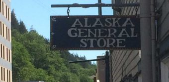 The Alaska General Store on Franklin Street in downtown Juneau.