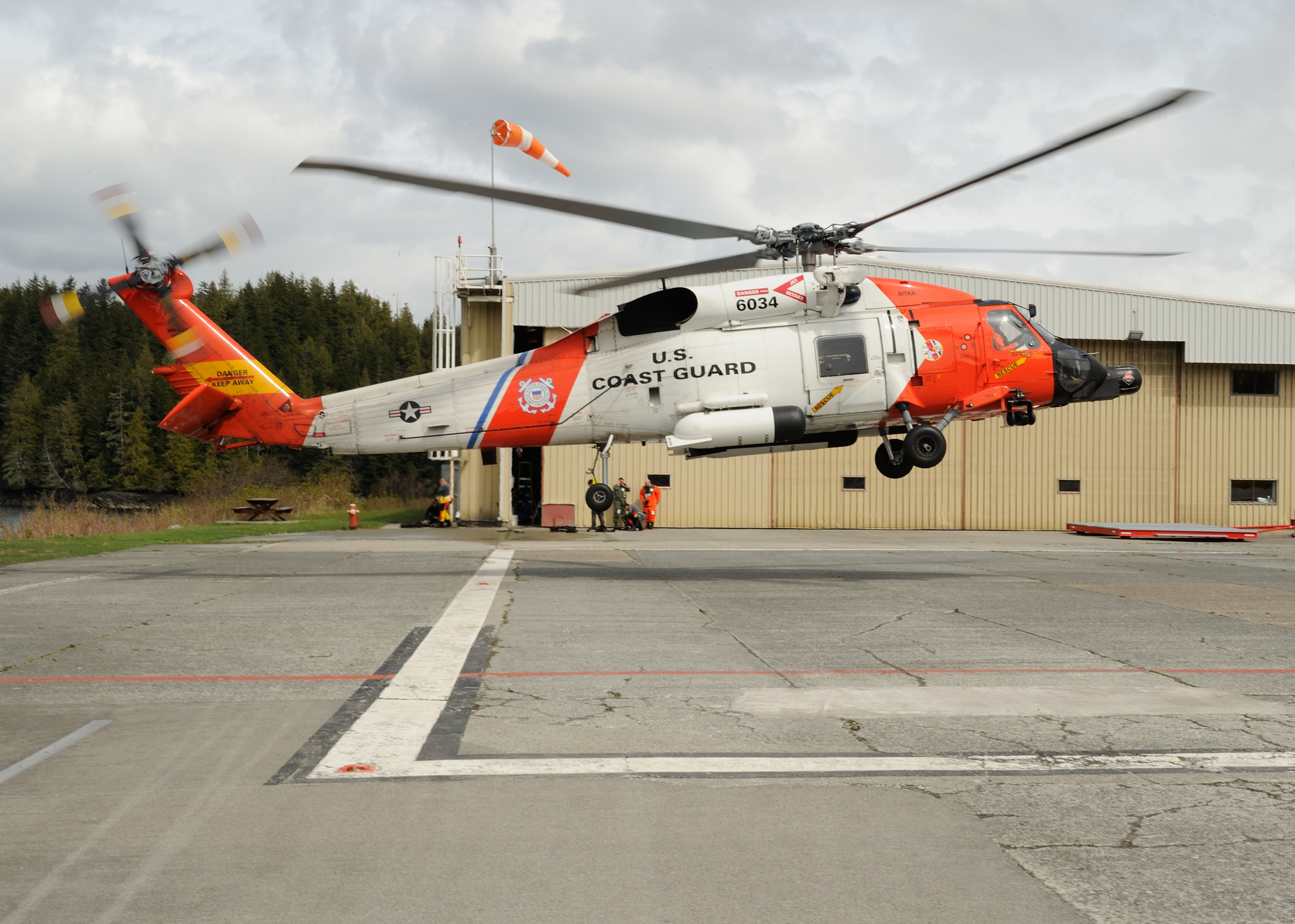 Coast Guard H-60 Jayhawk