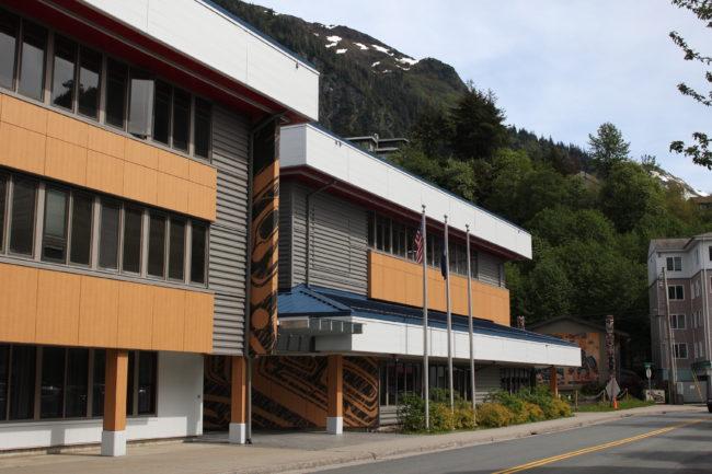 Andrew Hope Building/ Elizabeth Peratrovich Hall (Photo by Elizabeth Jenkins/KTOO)