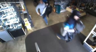 JPD seeks man who stole armful of merchandise from Nugget Alaskan Outfitter