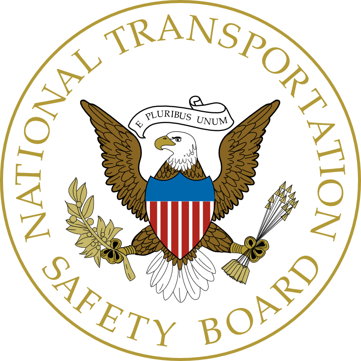 NTSB National Transportation Safety Board Seal