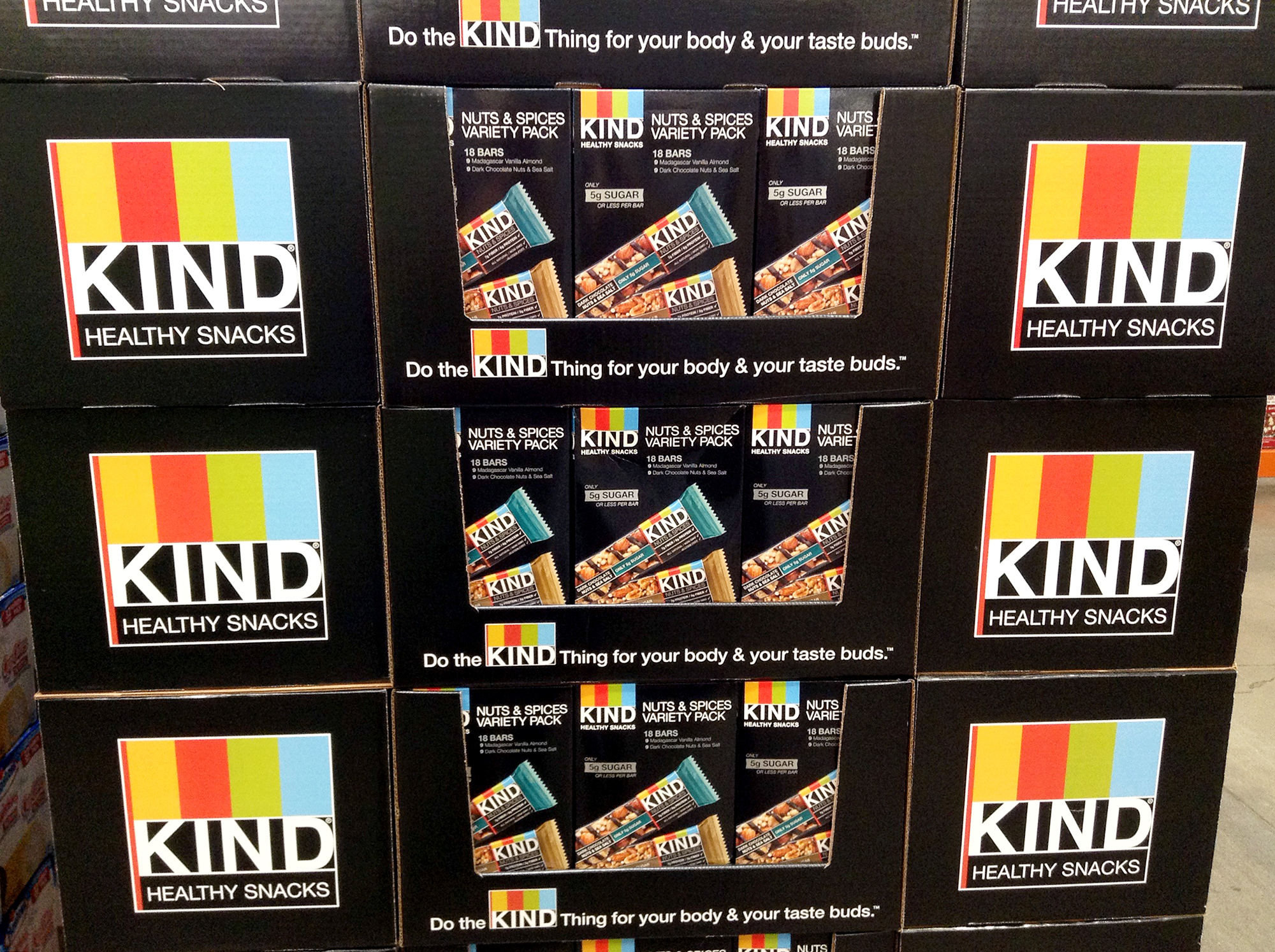 "The maker of Kind bars — which contain almonds and other nuts — pushed back against an FDA complaint about its use of the phrase ""healthy and tasty."" The FDA is now reviewing its definition of ""healthy"" as used on food labels. Mike Mozart/Flickr"