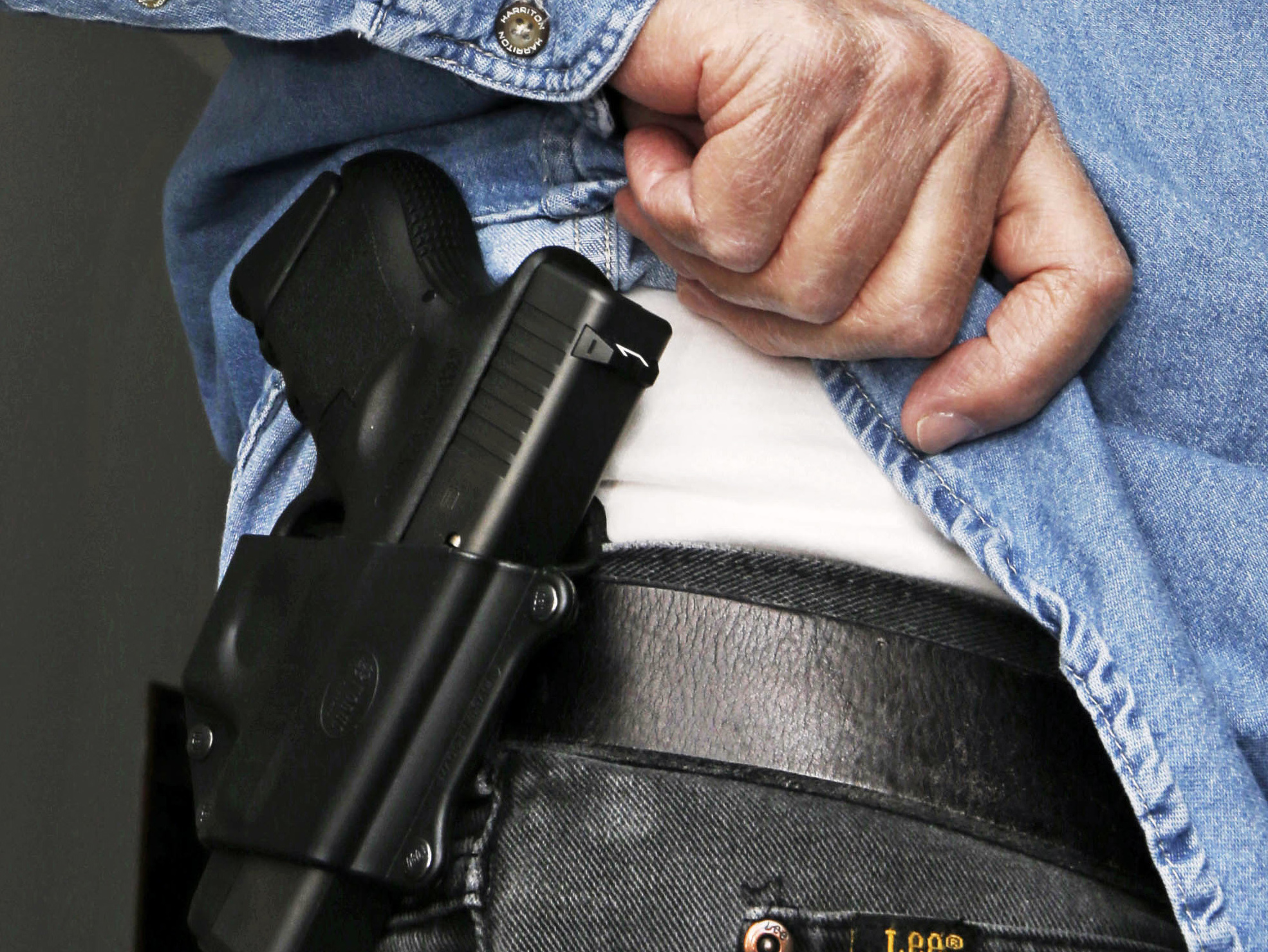 Dealing a blow to gun supporters, a federal appeals court ruled Thursday that Americans do not have a constitutional right to carry concealed weapons in public. Al Behrman/AP