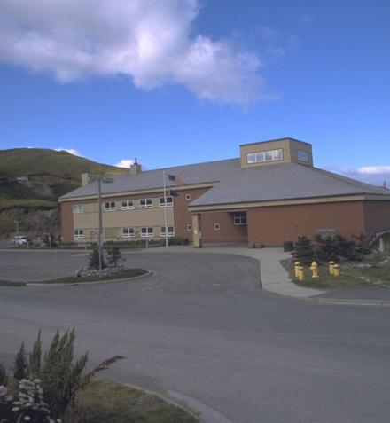 Unalaska's City Hall building. (Photo courtesy of KUCB)