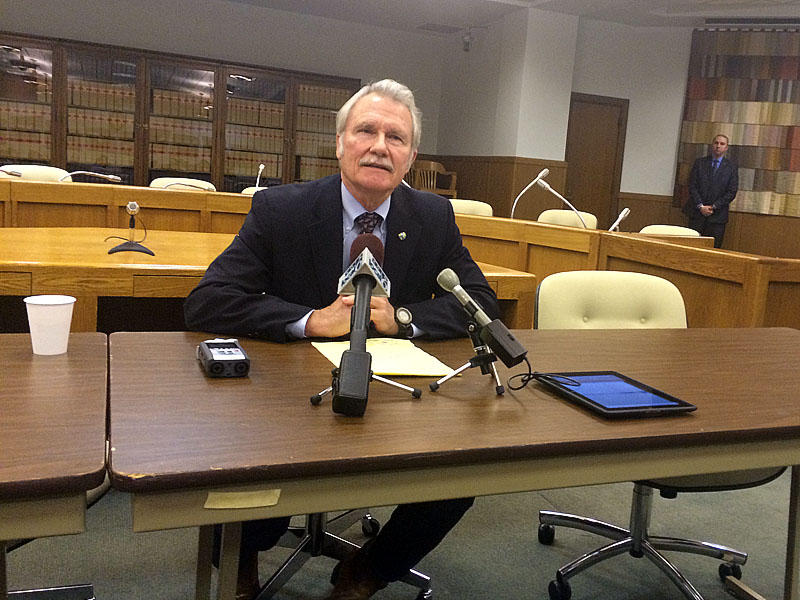 A federal court has thrown out a subpoena that sought access to personal emails sent by former Oregon Gov. John Kitzhaber. (Photo by Chris Lehman/Northwest News Network)