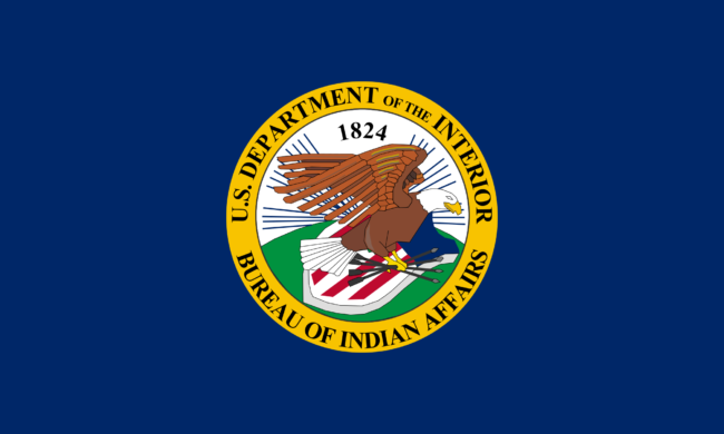 Bureau of Indian Affairs BIA Flag
