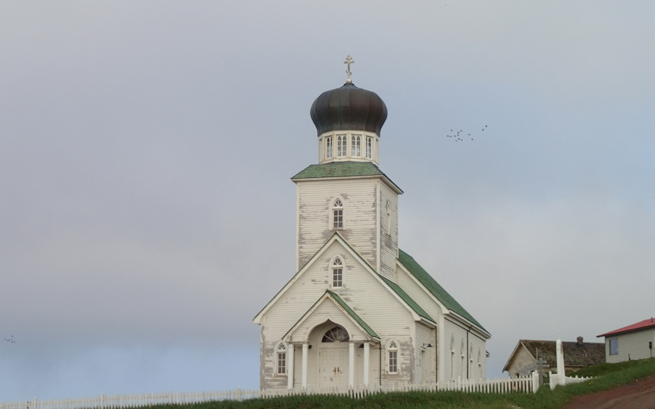 The Russian Orthodox Church on St. George Island on Aug. 8, 2012. (Creative Commons photo by D. Sikes)