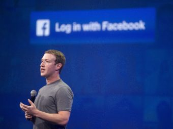 "In a post on Facebook CEO Mark Zuckerberg wrote that the live-streamed images following a police shooting in Minnesota were ""graphic and heartbreaking."" (Photo by Josh Edelson/AFP/Getty Images)"