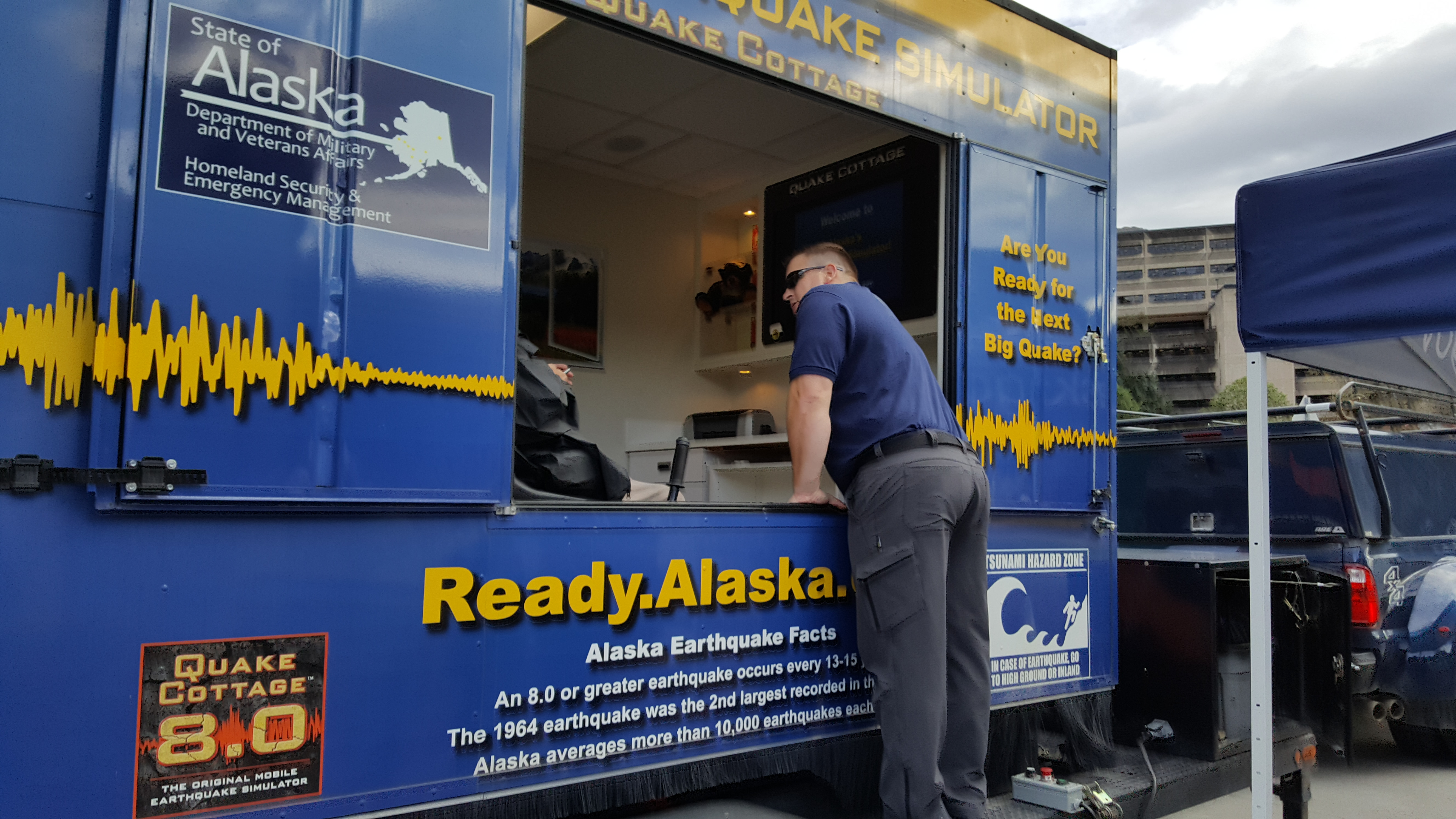 Earthquake simulator jolts Juneau residents