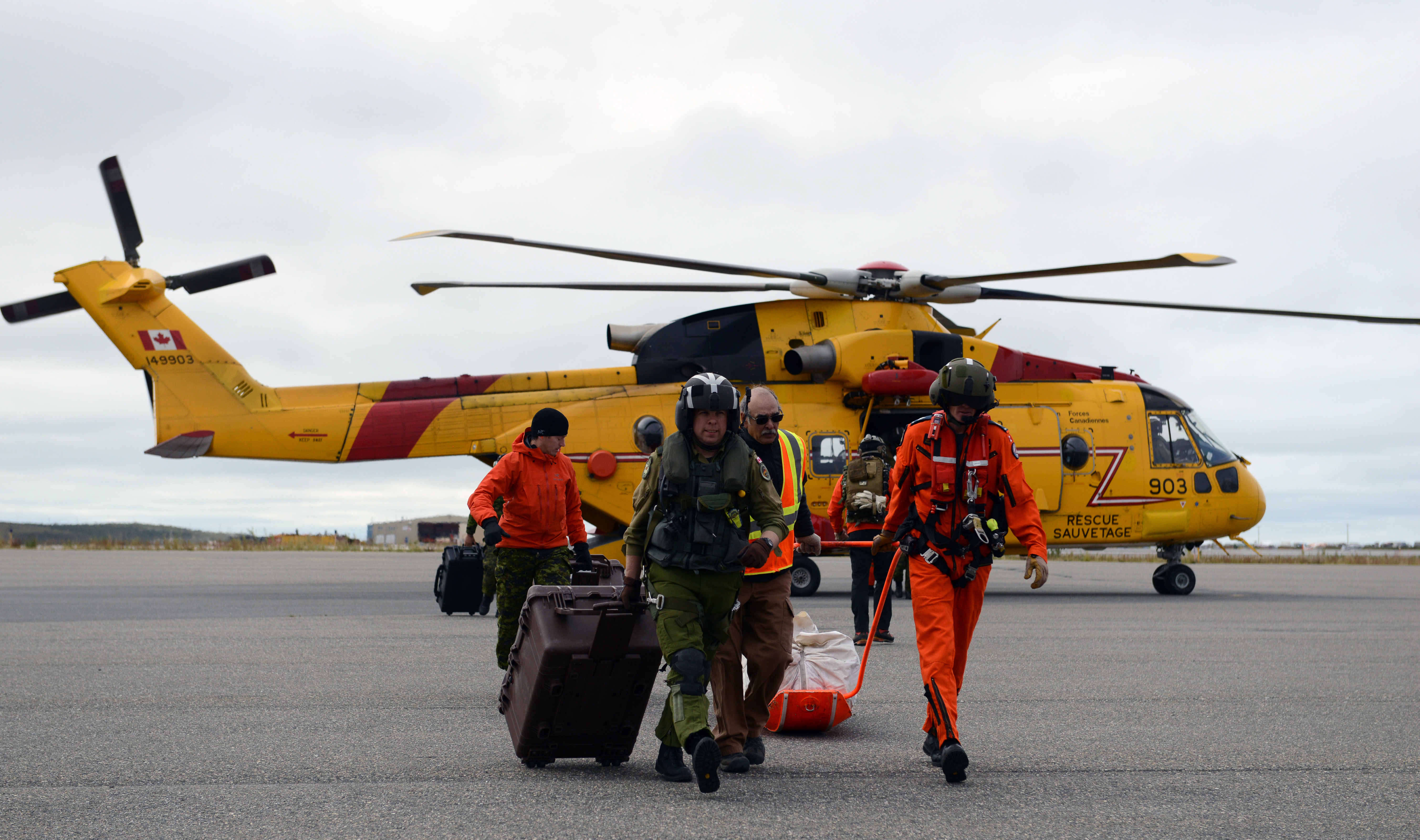 Arctic Chinook exercise concludes