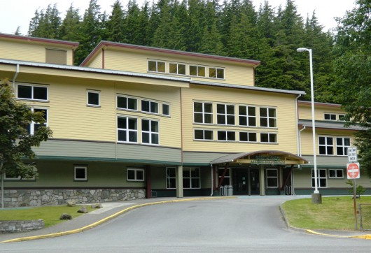 The Ketchikan School Board will vote on board president Michelle O'Brien's resignation and discuss goals at its meeting Wednesday. (KRBD file photo)