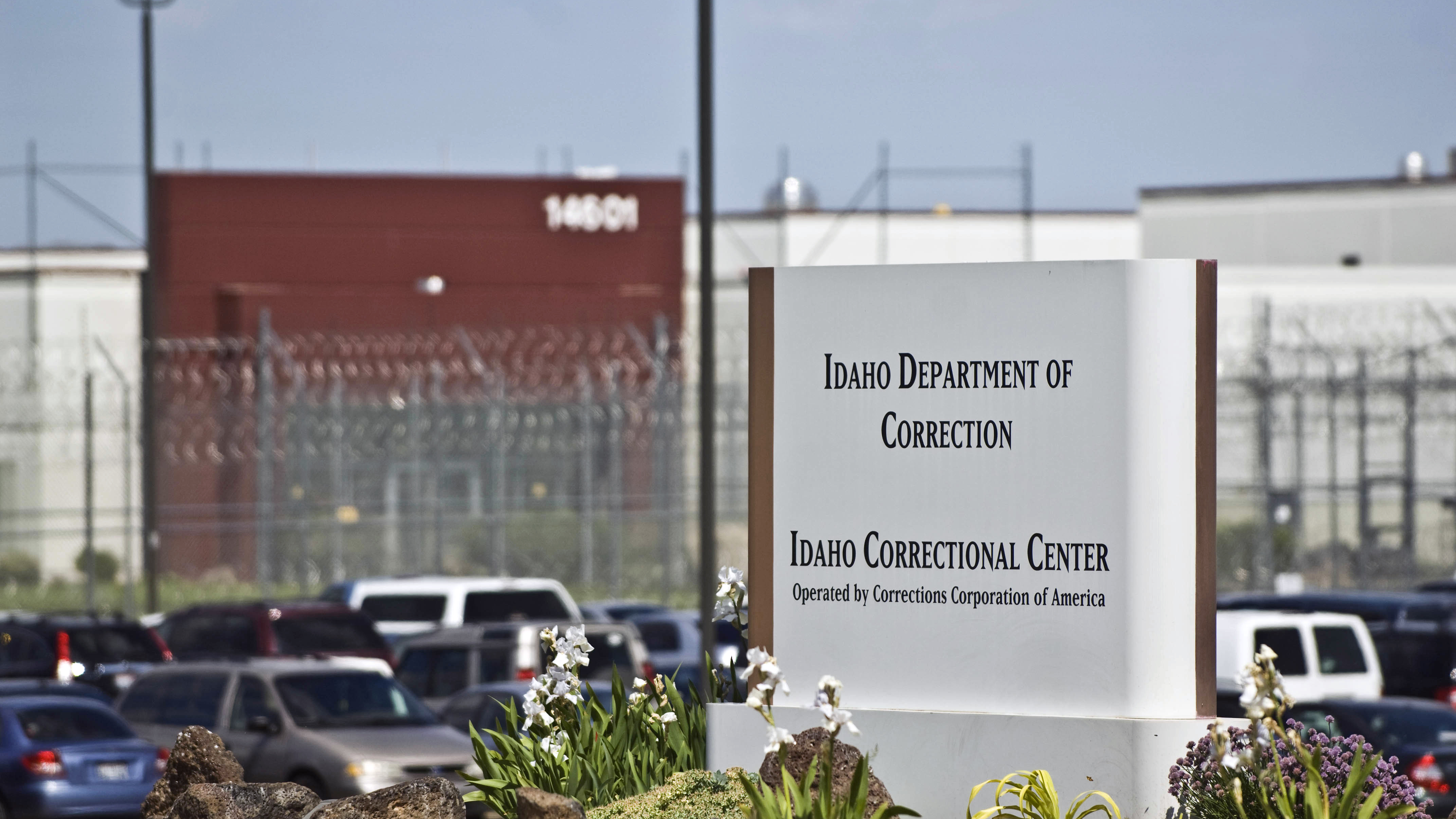 The Idaho Correctional Center south of Boise, Idaho, is a contract facility operated by Corrections Corporation of America. The Justice Department says it's phasing out its relationships with private prisons after a recent audit found they have more safety and security problems than ones run by the government. (Photo by Charlie Litchfield/AP)