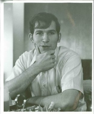 Bill Walker during college. (Photo courtesy of Bill and Donna Walker)