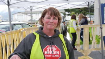 Michele Morgan founder of Juneau - Stop Heroin, Start Talking.