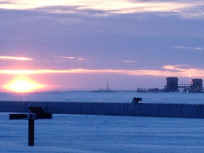 Workers plug Alaska North Slope oil well that leaked gas