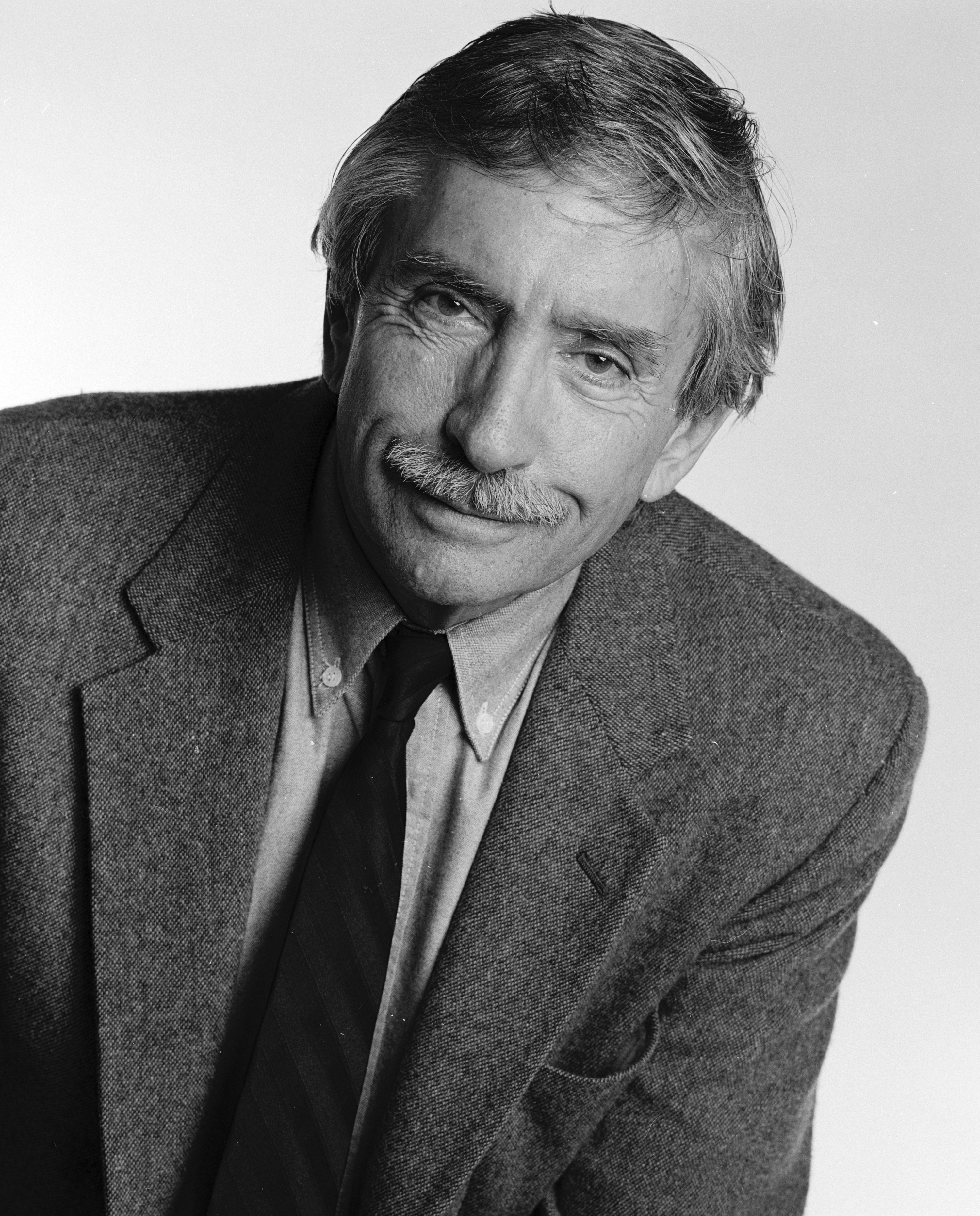 Albee, shown here in 1995, won Pulitzer Prizes for A Delicate Balance, Seascape and Three Tall Women and Tony awards for Who's Afraid of Virginia Woolf? and The Goat, or Who Is Sylvia? Jack Mitchell/Getty Images