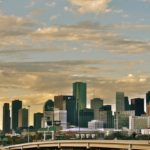 Houston's skyline in 2011.