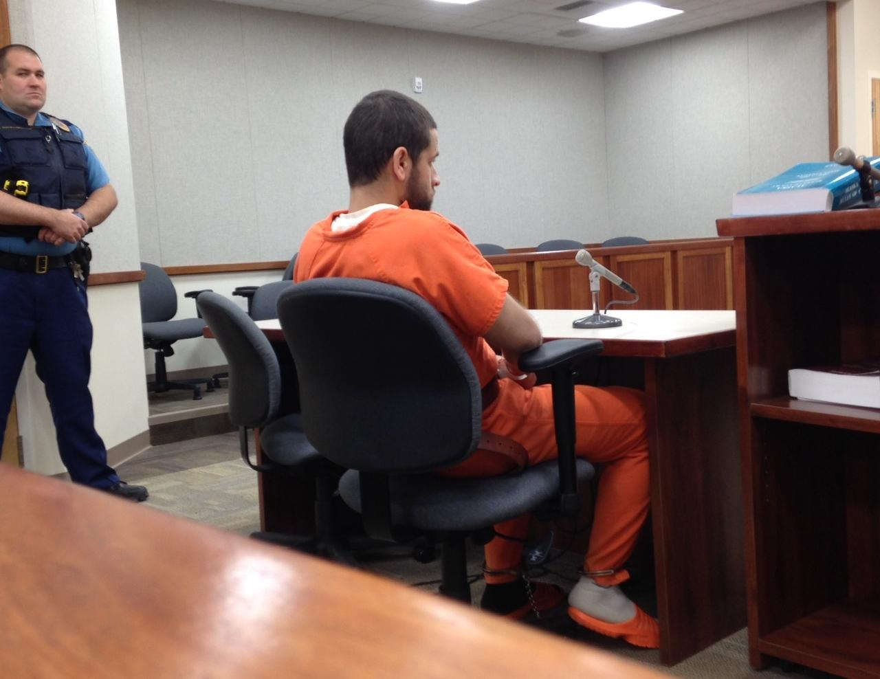 Christian Young, 24, was arraigned for felony probation violations Wednesday in Dillingham. (Photo by KDLG)