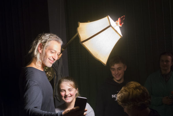 Matisyahu poses for a selfie