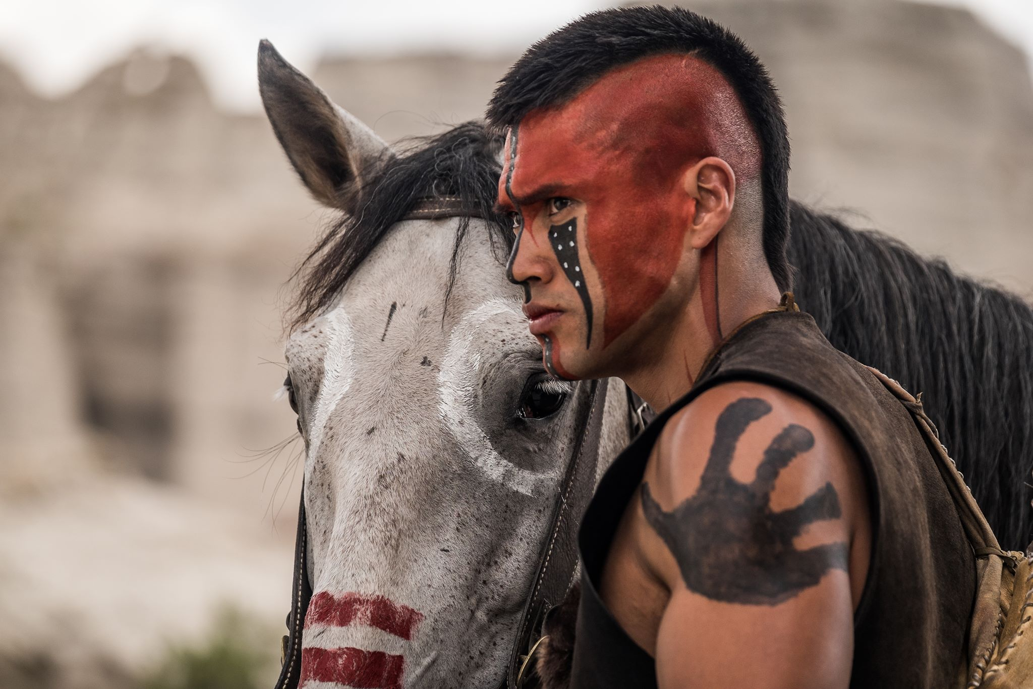 Martin Sensmeier as Red Harvest