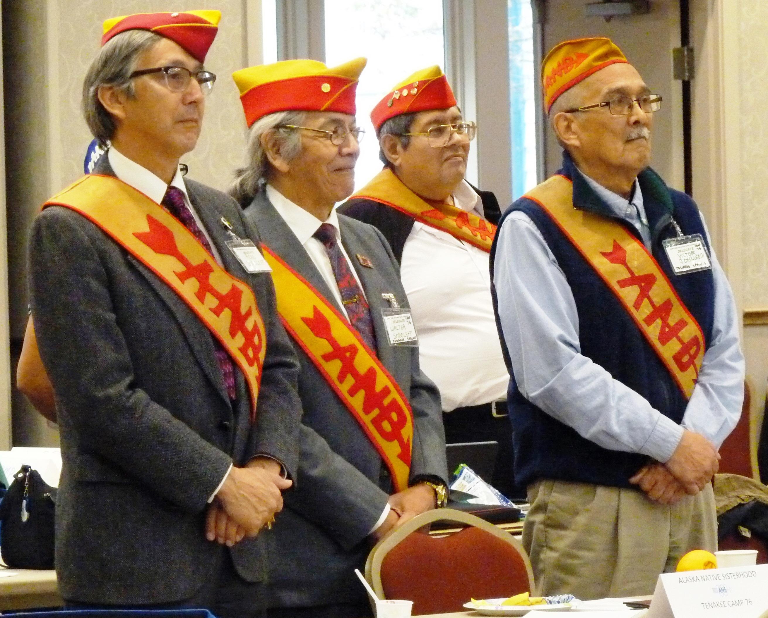 ANB Tenakee camp members. (Photos by Ed Schoenfeld/CoastAlaska News)