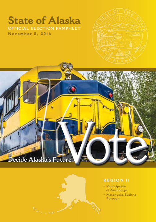 The Alaska Division of Elections official 2016 elections pamphlet.