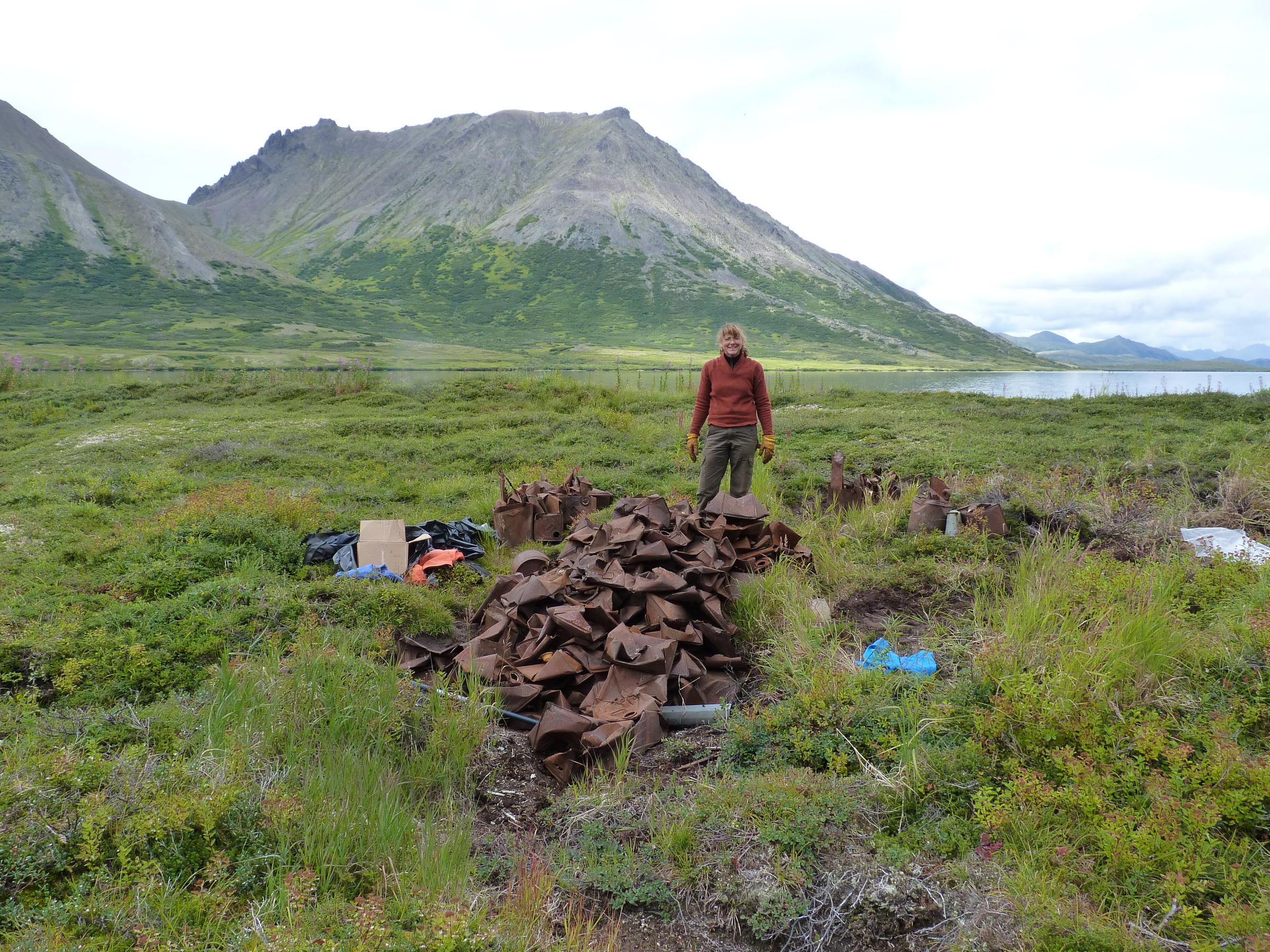 Summer cleanup effort removes junk from togiak national for Nc fish and wildlife