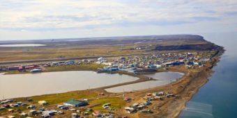 Utqiagvik, the city formally know as Barrow, in 2014.