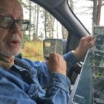 Bill Warren, of Nikiski, talks about land in his unincorporated community that has been sold to the Alaska LNG Project LLC on Sept. 25, 2016 in Nikiski, Alaska. Warren is one community member who did not sell his land and received notice that negotiations to buy his property were being suspended after the project partners decided not to move into the next phase of development. (Photo by Rashah McChesney/Alaska's Energy Desk)