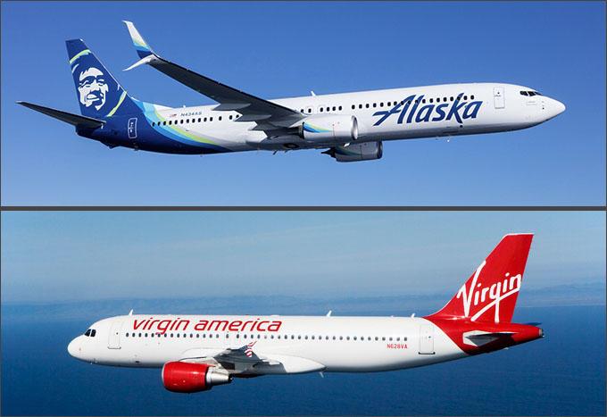 (Photo by Alaska Airlines/Virgin America)