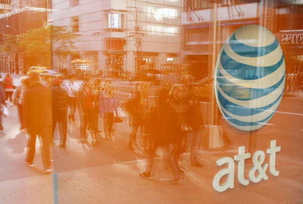 An AT&T store on Fifth Avenue in New York.