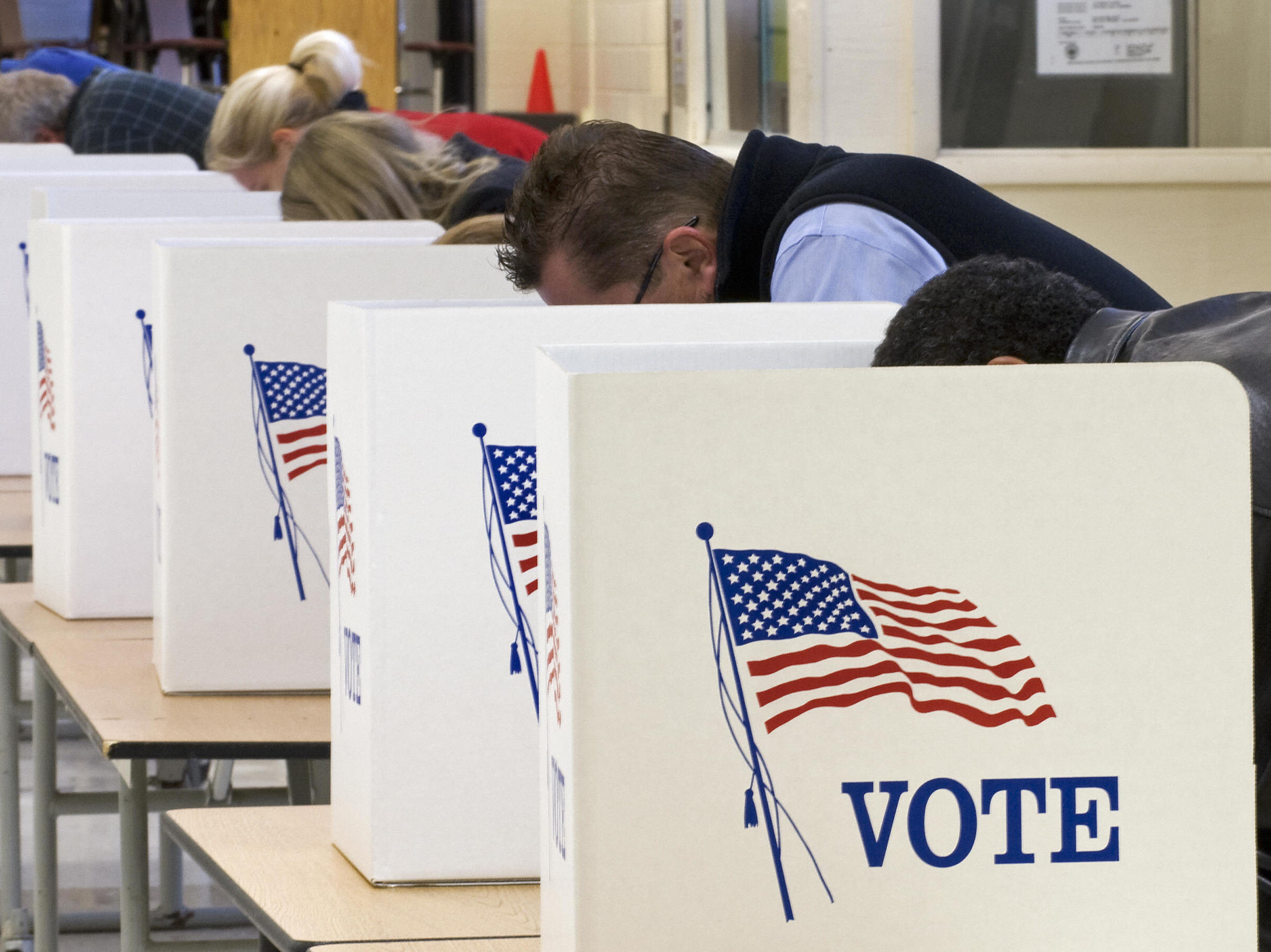 Ahead of the November presidential election, tension run high. A polls show Americans say the election is a causing stress.