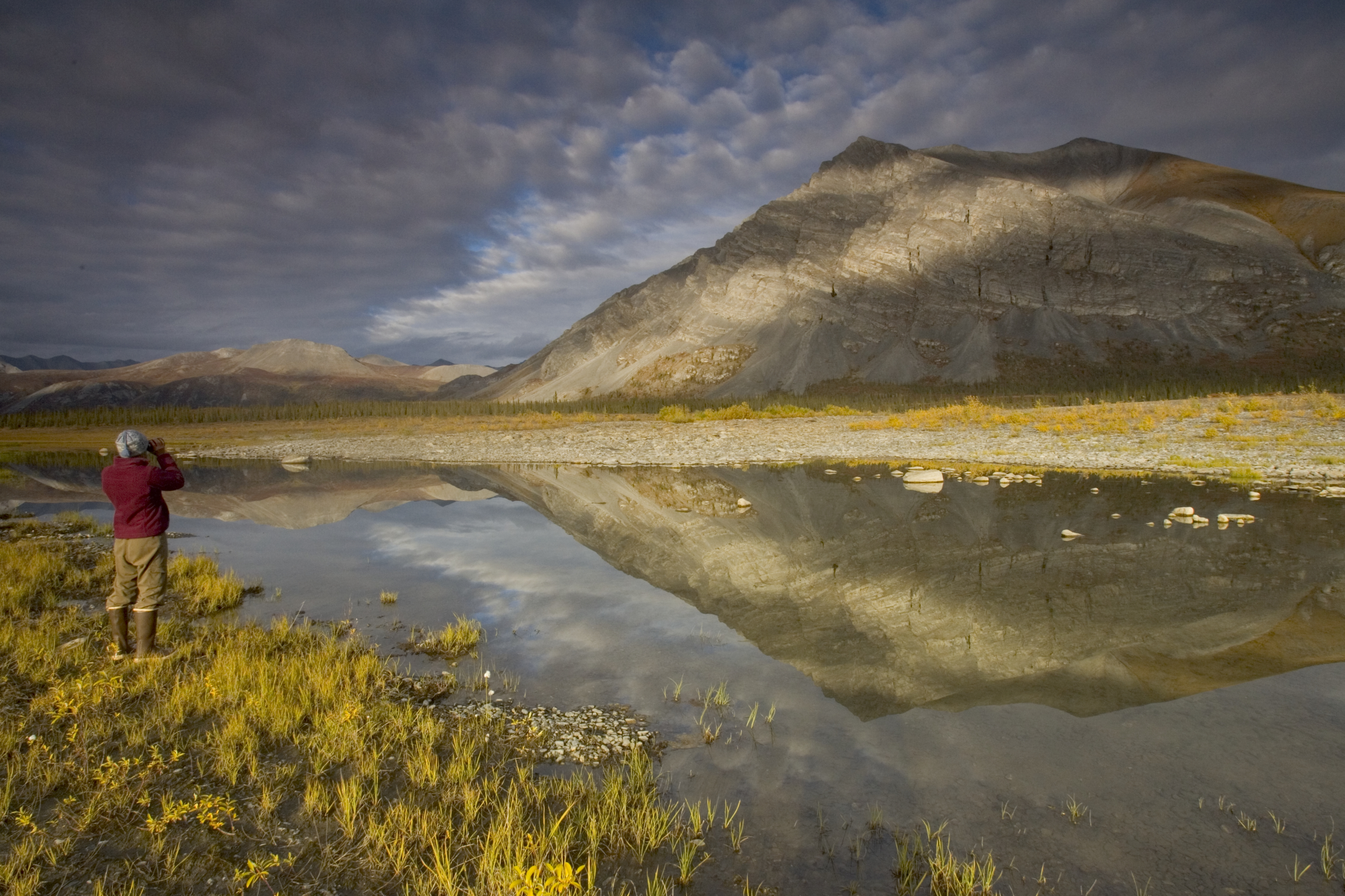 A view of the Arctic National Wildlife Refuge. (Photo by USFWS)