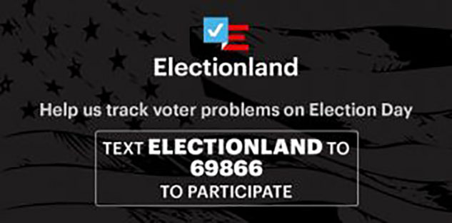 Alaska Public Media is teaming up with ProPublica's Electionland project to check for problems at the polls. (Image: courtesy of Electionland)