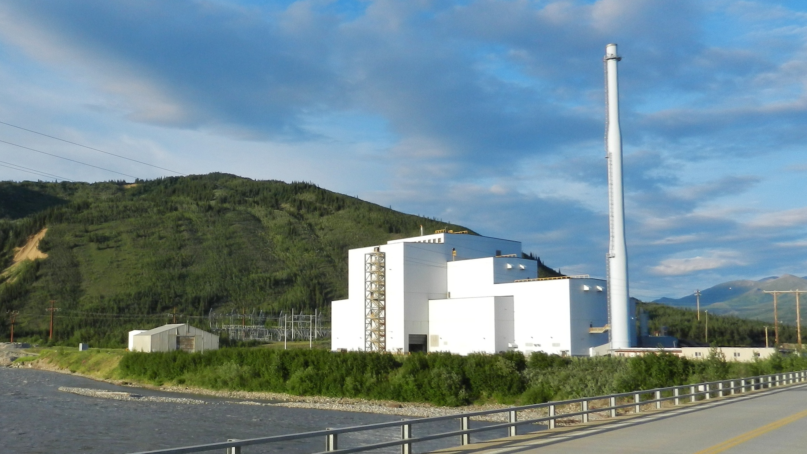 The Healy coal power plant on July 8, 2011.