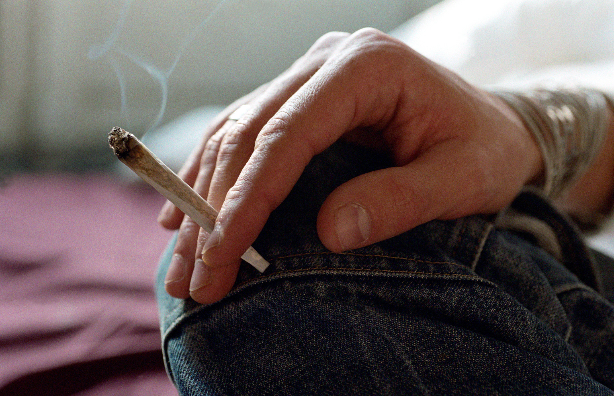 Is marijuana a gateway drug to smoking cigarettes? PhotoAlto/Katarina Sundelin/Getty Images