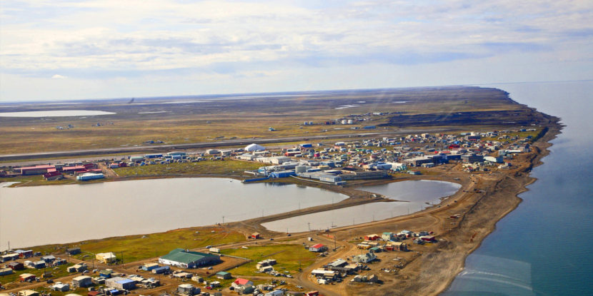 Utqiagvik, the city formally know as Barrow, in 2014. ( Creative Commons photo)