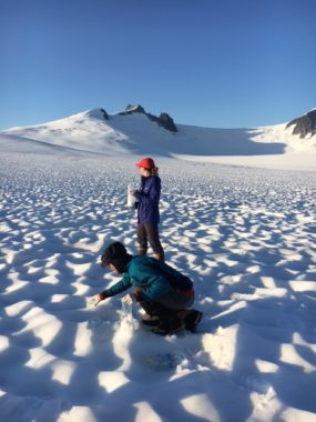 UAS black carbon sampling on the Juneau Icefield in July 2016.
