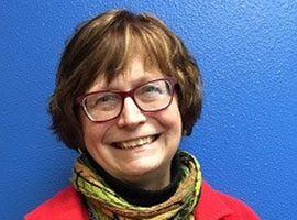 Marilyn Davidson will receive a Governor's Award for her work in the arts and humanities in Alaska. (Phtoo by Kayla Desroches / KMXT)