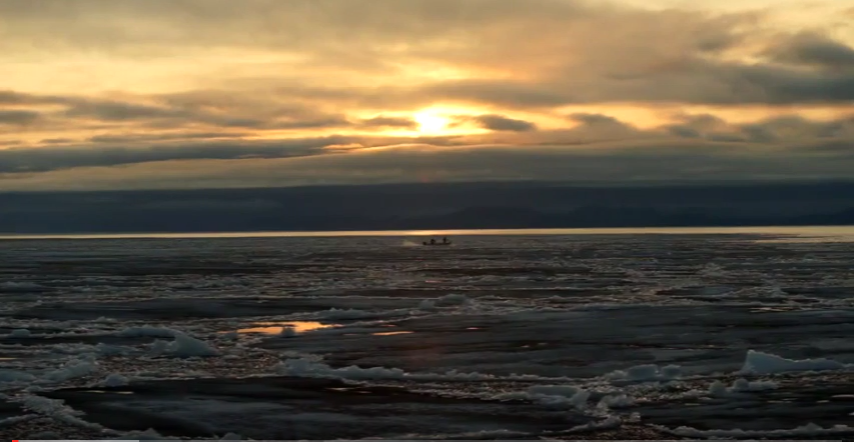 Screenshot from the video Silavut Atlannuraqtuq, Our Changing Weather, about climate change in Northwest Alaska. (Image courtesy of the Maniilaq Association and ANTHC)