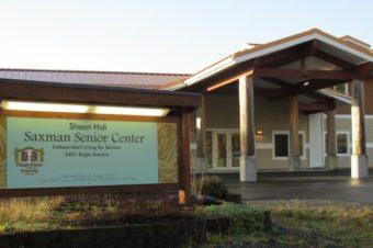 The Saxman Senior Center, new home to Ketchikan Senior Services.