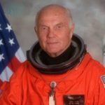 Portrait Of U.S. Sen. John H. Glenn Jr. in 1998, when he served as Payload Specialist For Space Shuttle Sts-95. Glenn has died at the age of 95. NASA/Getty Images