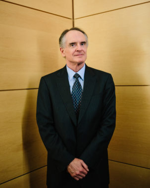 Jared Taylor promotes the idea that race is central to innate abilities and national success. He is working to build a United States explicitly for white people. Ariel Zambelich/NPR