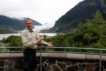 John Neary Mendenhall Glacier (Photo by Elizabeth Jenkins/KTOO)
