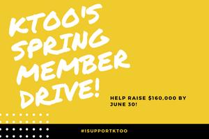 Help KTOO raise $160,000!