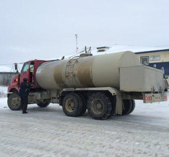Bethel water truck.