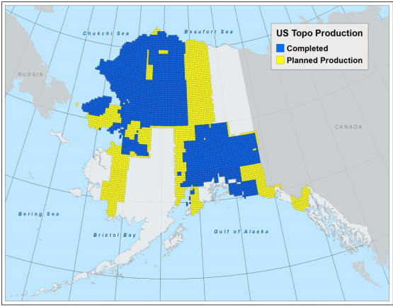 USGS overhauling inaccurate, outdated Alaska maps